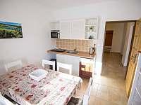 Kuchyňka - ubytování Kovářská