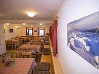 Společenská místnost - ubytování Kovářská