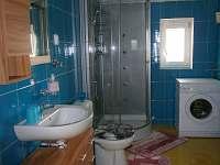 Koupelna - rekreační dům k pronájmu Stružná