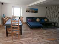 Obývací pokoj - rekreační dům ubytování Stružná