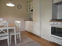 Kuchyně - chalupa ubytování Abertamy