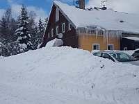 Sonja House v zimě - pronájem chalupy Abertamy