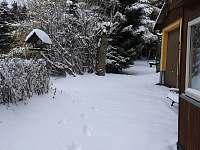Zahrada v zimě - Abertamy