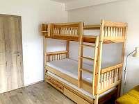 ložnice - pronájem apartmánu Loučná pod Klínovcem