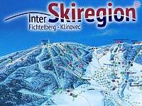lyžařská mapa - Loučná pod Klínovcem