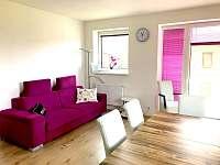 obývací pokoj - apartmán k pronájmu Loučná pod Klínovcem