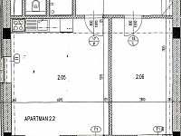 plánek - pronájem apartmánu Loučná pod Klínovcem