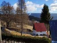 Babiččina chalupa - pohled na Klínovec - k pronájmu Jáchymov - Nové Město