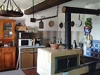 Babiččina kuchyň 1 - pronájem chalupy Jáchymov - Nové Město
