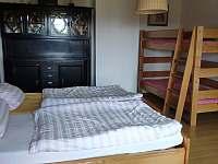 Rodinná ložnice - chalupa k pronájmu Jáchymov - Nové Město