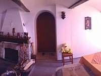 Společenská místnost :-) - pronájem chalupy Jáchymov - Nové Město