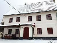Zima nastupuje - pronájem chalupy Jáchymov - Nové Město