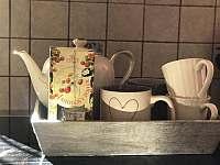 hrnky na čaj - pronájem vily Nejdek