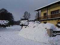 ubytování Nové Hamry v penzionu na horách