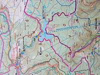 mapa - chalupa k pronájmu Český Jiřetín