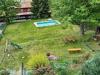 pohled z patra - chata ubytování Jáchymov - Mariánská