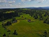 Panorama s Klínovcem a Špičákem - chata k pronájmu Hřebečná