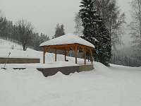 zima - pronájem chalupy Stříbrná
