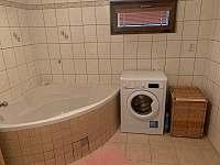Koupelna - pronájem chaty Bublava