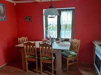 Kuchyň - chata ubytování Bublava