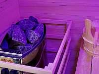 Finská sauna - chalupa k pronajmutí Hroznětín