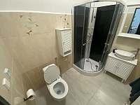 Koupelna č.3 - chalupa k pronajmutí Hroznětín