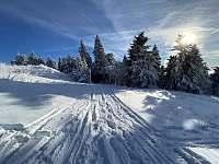 Zima Krušné Hory - Hroznětín