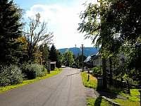 Pohled na Klínovec - chata k pronájmu Loučná pod Klínovcem - Háj