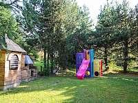 Zahrada - chata ubytování Loučná pod Klínovcem - Háj