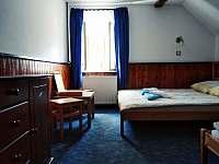 čtyřlůžkový pokoj - ubytování Kytlice