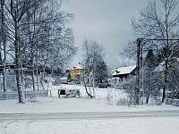 zimní pohled z penzionu (2) - Kytlice
