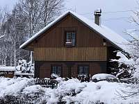 Zima 2019 - chata ubytování Horní Podluží