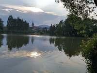 Rybník za chalupou :-)