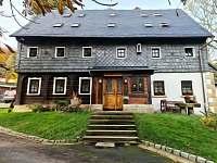 Chata Tollendorf - apartmán ubytování Jiřetín pod Jedlovou