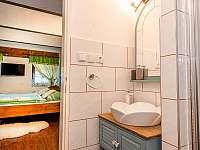Koupelna apartmán Kardinek - k pronájmu Jiřetín pod Jedlovou
