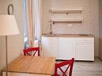 apartmán K, kuchyňka - k pronájmu Rynoltice