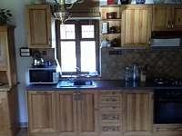 Kuchyňský kout - pronájem chalupy Horní Prysk