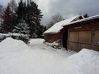 v zimě - chata k pronajmutí Jiřetín pod Jedlovou