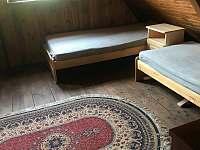 Ložnice 2 - pronájem chalupy Jitrava