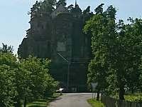 Skalní hrad Sloup. - pronájem apartmánu