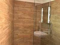 Sprchový kout - rekreační dům k pronajmutí Polevsko