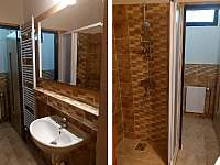 Koupelna č. 1 - chalupa ubytování Manušice