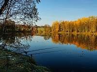 rybolov na Radvaneckém rybníku - Sloup v Čechách