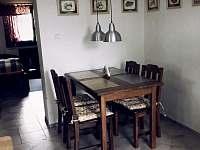 jídelní kout - chata ubytování Jiřetín pod Jedlovou - Rozhled