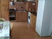 Kuchyně - pronájem chalupy Dolní podluží