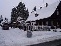 Pohled v zimě 2 - chalupa k pronájmu Dolní podluží