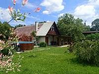 Chalupa pro děti - zahrada