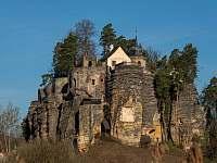 Skalní hrad Sloup -