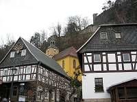 Německo - Oybin skalní hrad