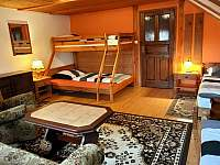 Oranžový pokoj 4-5 osob - pronájem chalupy Rynoltice